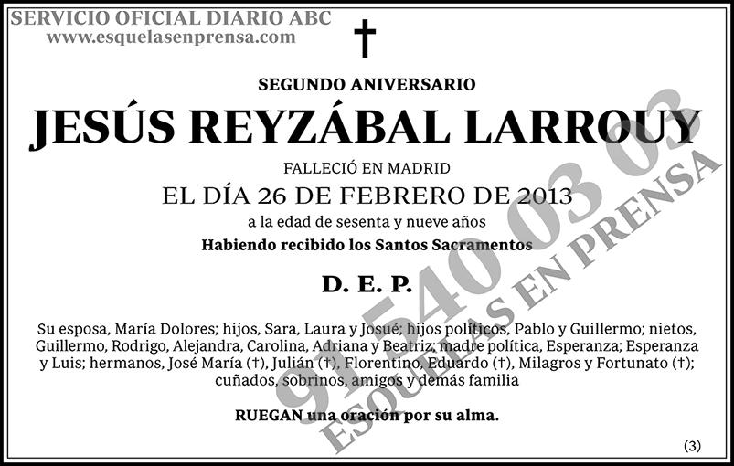 Jesús Reyzábal Larrouy